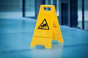 slip-and-fall sign