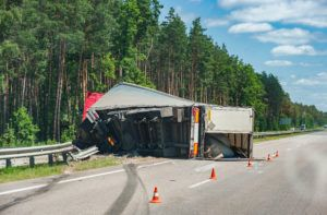 Rollover Tractor-Trailer Accident Lawyer in Charlotte, NC - Charlotte Semi-Truck Accidents - Stewart Law Offices