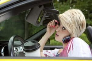 Examples of distracted driving