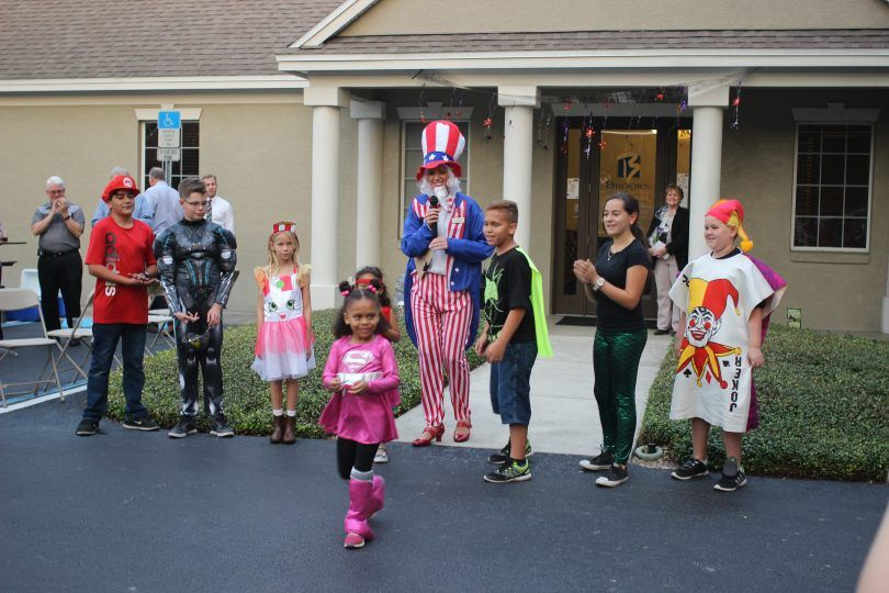Great prizes at Halloween Bash for kids - Brooks Law Group