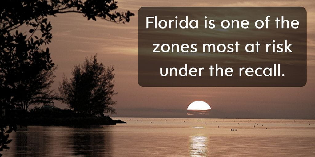Florida is one of the countries highest priorities as far as recalls go - Brooks Law Group