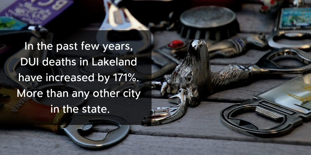 Lakeland DUI Rates, Second in State - Brooks Law Group