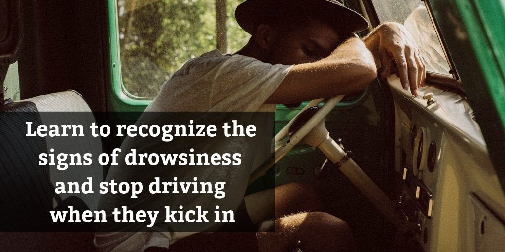 Learn the signs of sleep deprivation and stop driving - Brooks Law Group
