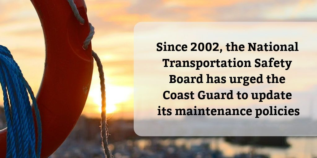 Coast Guard Safety Recommendations - Brooks Law Group