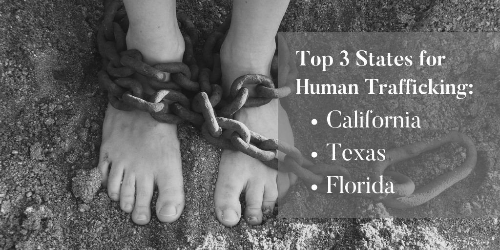 Top States for Human Trafficking - Brooks Law Group