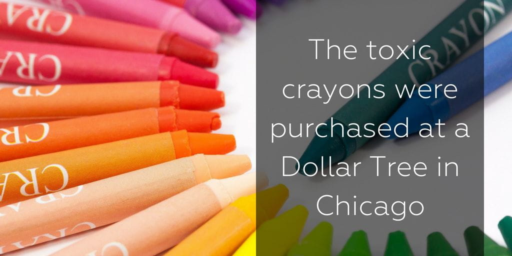 The asbestos crayons were purchased in Chicago - Brooks Law Group