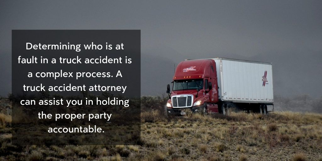 Truck Crash Lawyers Can Help Hold The Negligent Party Accountable - Brooks Law Group
