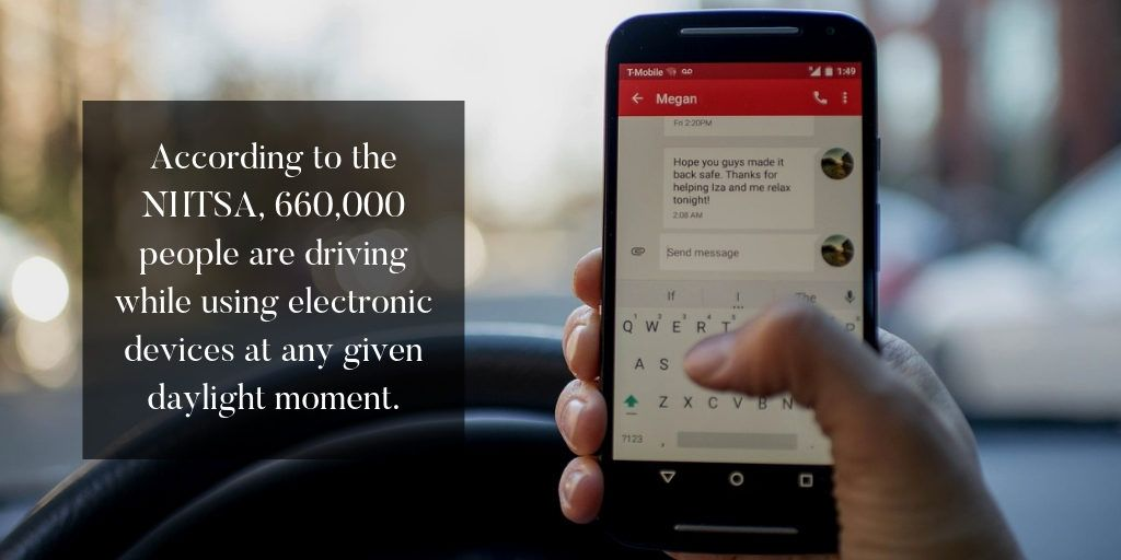 Driving While Texting, Florida Law - Brooks Law Group