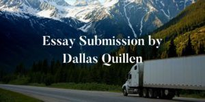 Essay Submission by Dallas Quillen