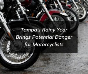 Rain and slick roads present danger to all manner of vehicles, but they can be especially treacherous for motorcycle riders.