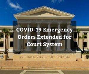 Courts Closed in Florida for Coronavirus