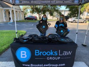 Brooks Law Group Mask Giveaway Part 2