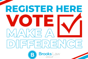 Register to vote graphic