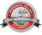 2020 A&P Personal Injury Badge - Brooks Law Group