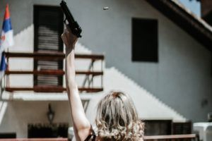 Woman shoots celebratory gunfire on holiday in Florida