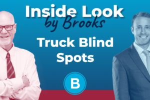 Steve Brooks and Beach Brooks III discuss truck blind spots