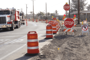 Large Trucks are Involved in 1/3 of All Fatal Crashes Occurring in Work Zones
