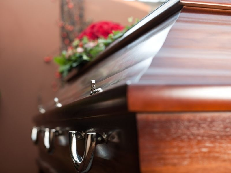 funeral home's acctions