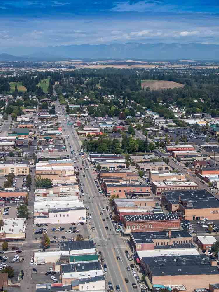 City Of Kalispell >> Downtown Kalispell Montanawest