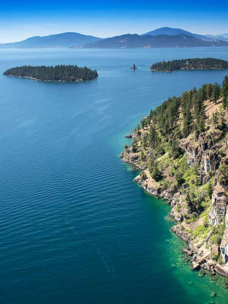 Woods Bay On Flathead Lake