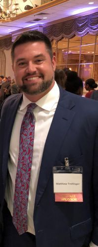 Matt Trollinger Attends Hispanic Bar Gala