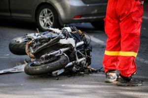 motorcycle accident in Waldorf
