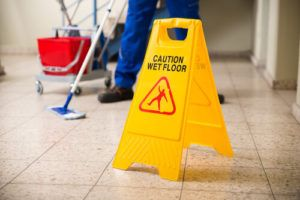 slip and fall accident in Waldorf