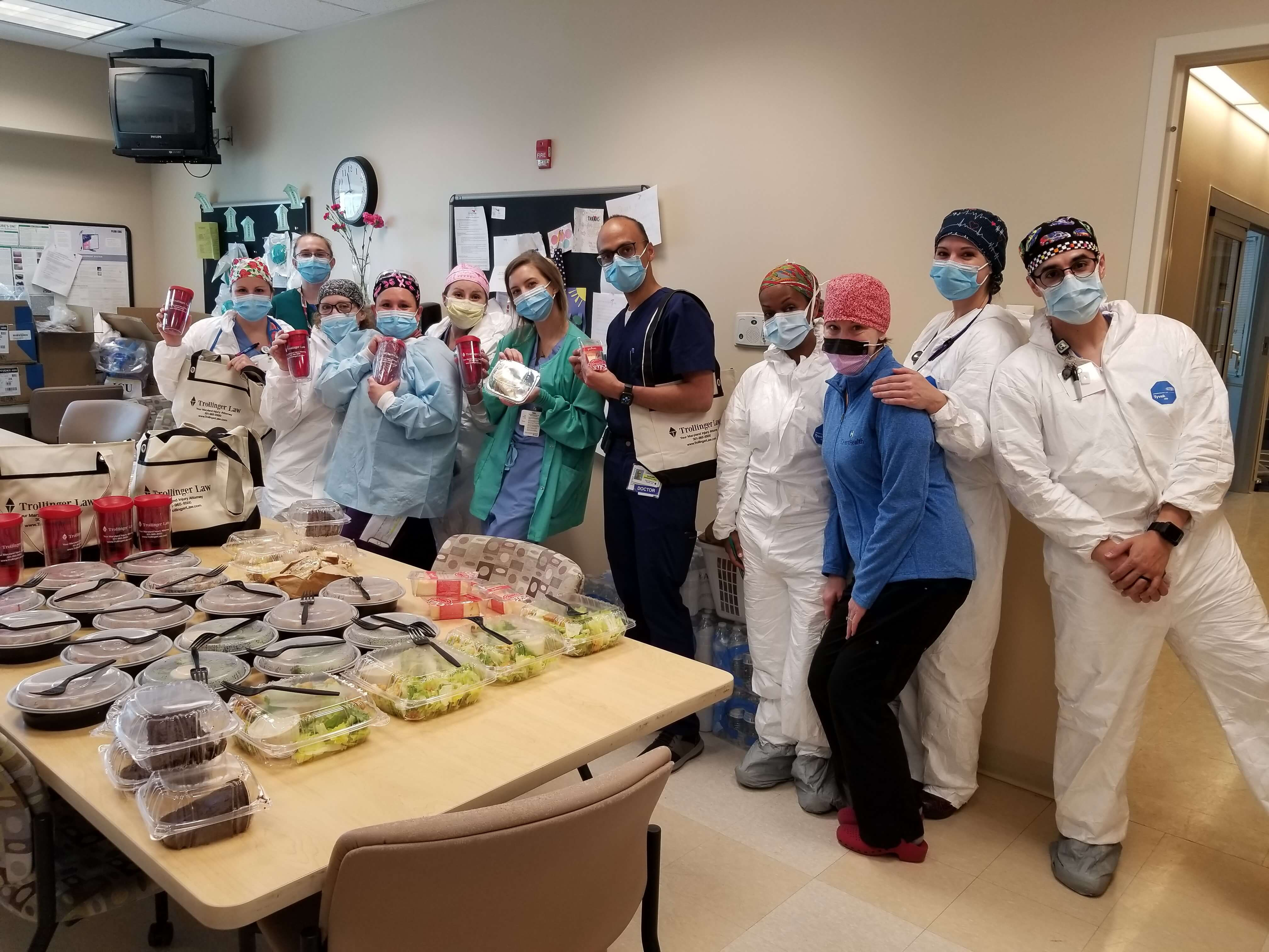 Supplying Lunch for ICU Workers [Updated September 2020]