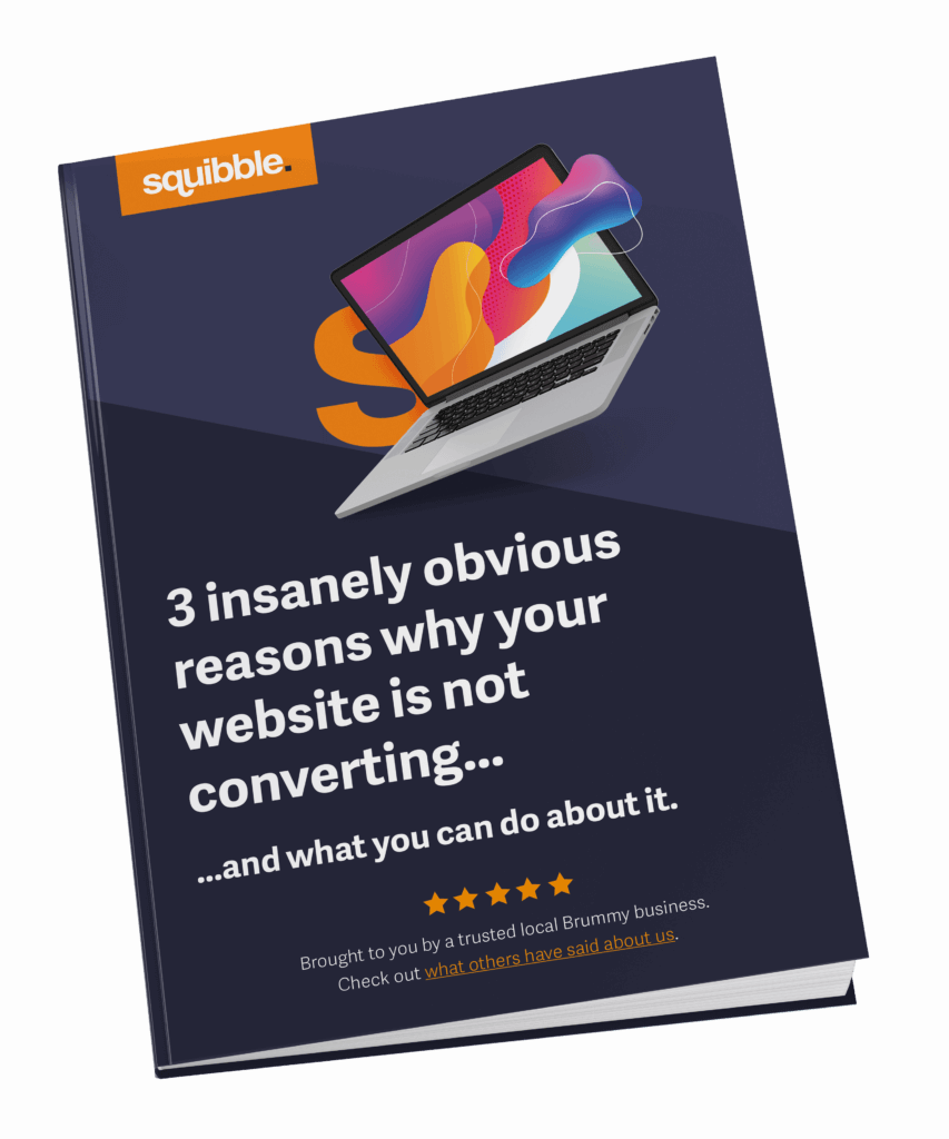 Free eBook - 3 insanely obvious reasons why your website is not converting