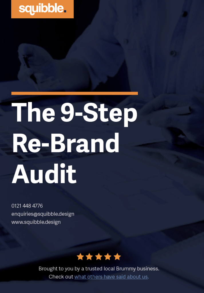 The 9 step re-brand guide