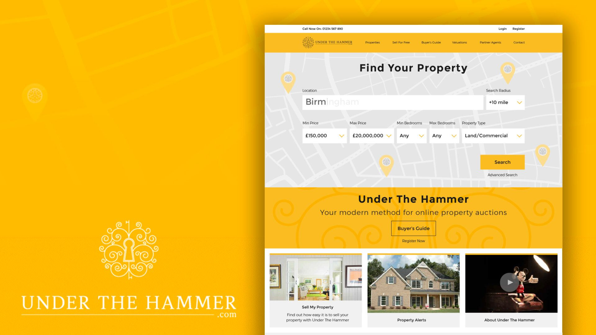 Under the hammer case study