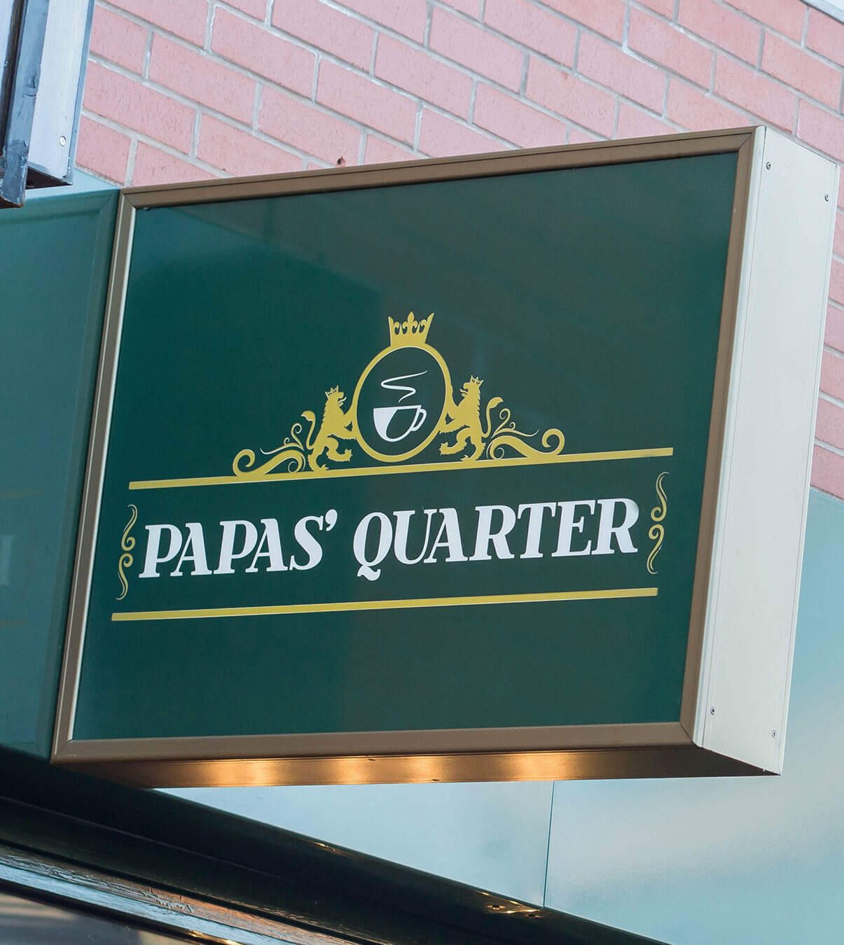 Papas Quarter Logo