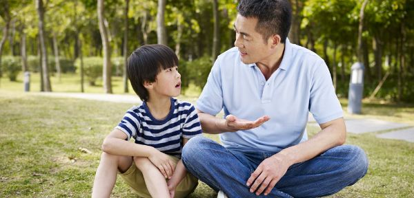 If they are old enough, talk to your children about safe behaviors.