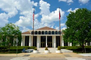Photo of NC legislature building where laws affecting family law matters are passed.