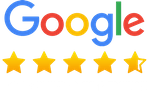 4.5/5 Google Customer Reviews