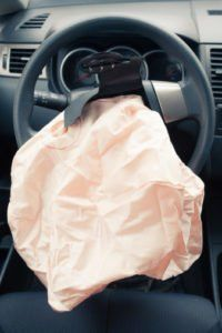 Exploded Airbag