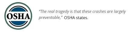OSHA - workplace accident prevention