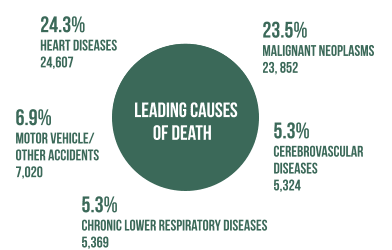 Leading Cause of Death in Illinois