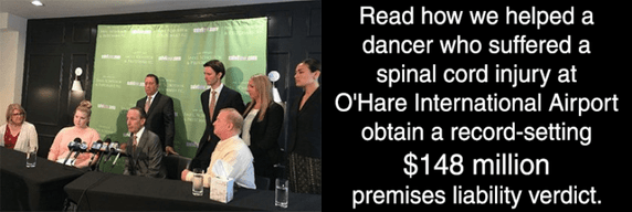 Spinal cord injury premises liability $148 million settlement