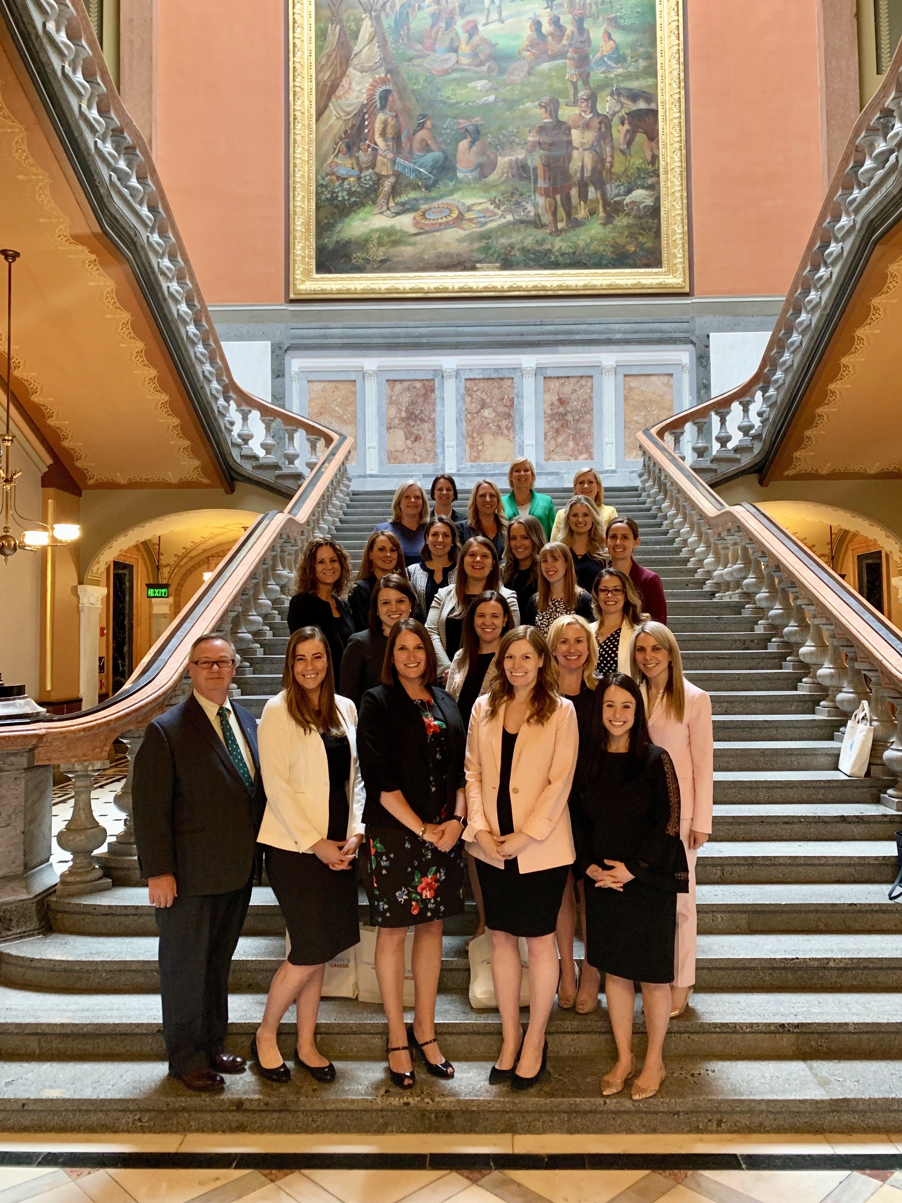 Illinois Trial Lawyers Association's 2019 Women's Caucus Lobby Day