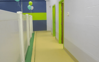Interior of the daycare