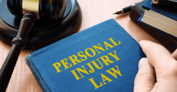 A law book on the desk of a Christiansburg personal injury lawyer and Christiansburg car accident attorney, .