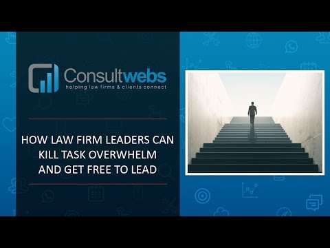 Webinar - Kill Task Overwhelm And Get Free To Lead