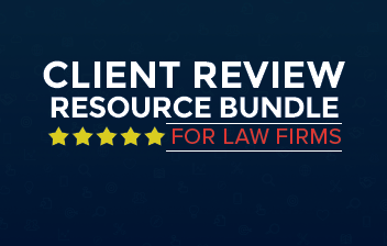 client review resource bundle for law firms
