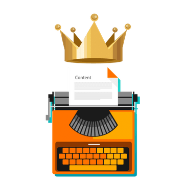 Content is king! Content marketing makes you a kingdom!