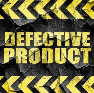 defective product
