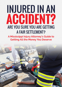 injured in an accident guide - Derek Hall's personal injury book