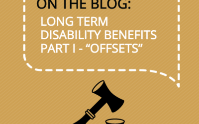 """What is an """"Offset"""" in a Long Term Disability Case?"""