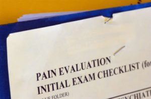 pain evaluation checklist for pain and suffering damages