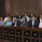 jury at a personal injury trial
